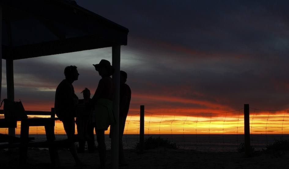 After a perfect day... / Sunset Beach, Geraldton, WA