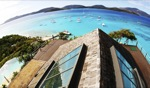 Rooftop view / Necker Island, BVI