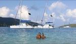 Gretta & Tuva / Prickly Pear Island, BVI