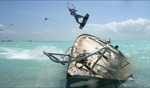 Obstacle / Wreck Kiting, Anegada Reef