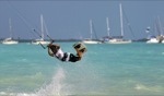 Jumping / Marco, Pomato Point, Anegada
