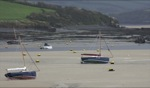 Boats at low tide II / Daymer Bay, Cornwall