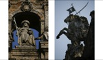 Jakob auf der Kathedrale / Santiago de Compostela