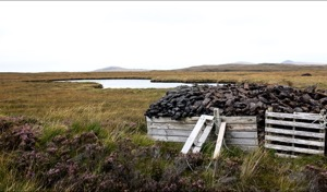 Peat, South Uist