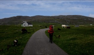 Start of Hebridean Way, Barra