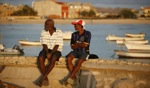 Sitting on the dock of the bay / Sal Rei, Boa Vista