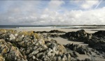 Empty beach / Tiree, Schottland